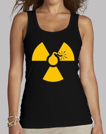 Top Femme - yellow nuke bomb