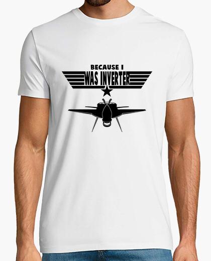 Camiseta TOP GUN SHIRT AVION INVERTIDA