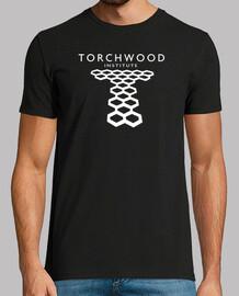 Torchwood negra (bordes blancos)