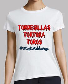 Tordesillas tortura toros
