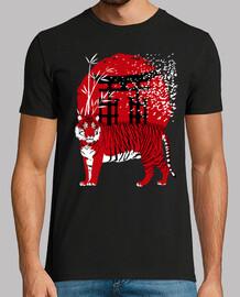 Torii Tigre rojo