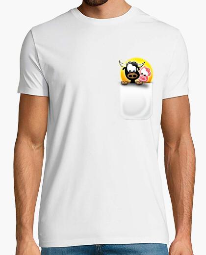 Torito boy pocket t-shirt