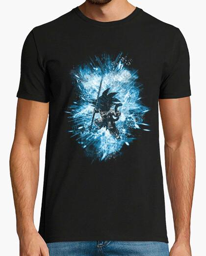 Camiseta tormenta de dragon ball