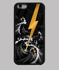 tormenta de guitarra eléctrica
