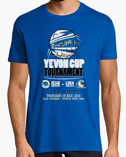 Camiseta torneo copa yevon hombres / unisex