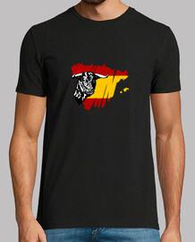 Toro y bandera de España