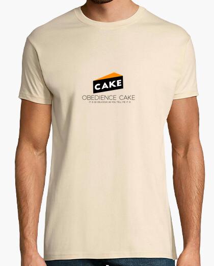 Camiseta torta de la obediencia