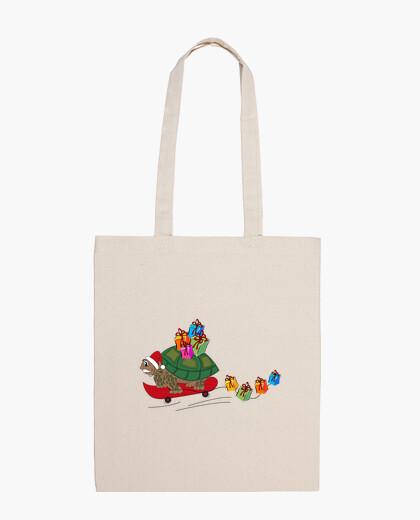Borsa tortoise santa natale