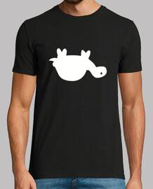 tortue au dos