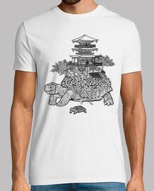 tortue de temple minimaliste