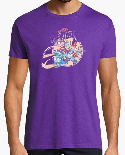 Tee-shirt tortues chibi