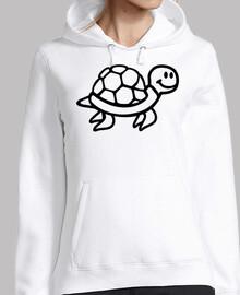 tortuga cómica del océano