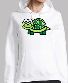 tortuga comica verde