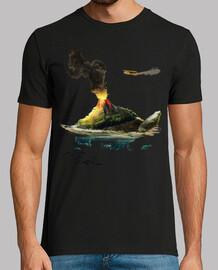 Tortuga Marina Volcan Peces Avion