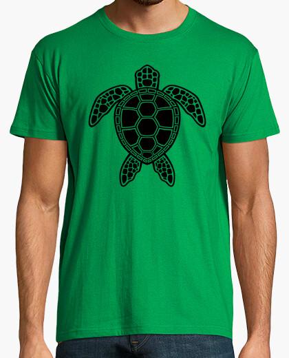 Camiseta tortuga verde