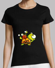 Tortuga y caracoles