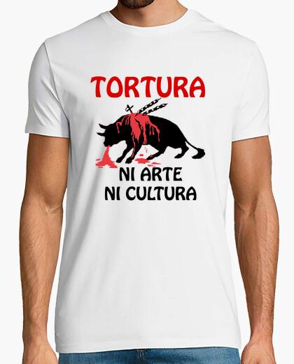 Camiseta Tortura NI ARTE NI CULTURA