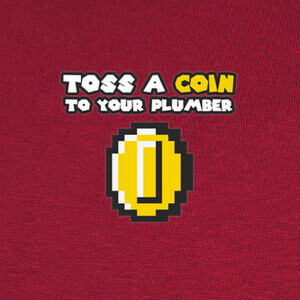 Camisetas toss a coin