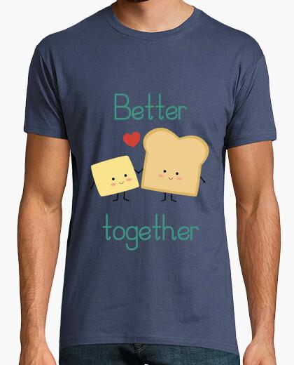 Camiseta Tostada y mantequilla