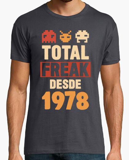 Camiseta Total Freak Desde 1978, 42 años