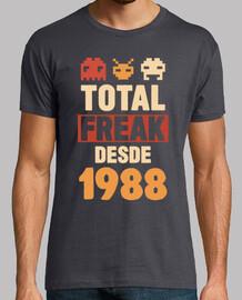 Total Freak Desde 1988, 31 años