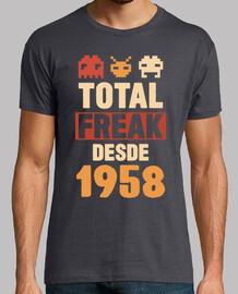 total freak since 1958, 61 years