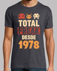 total freak since 1978, 41 years