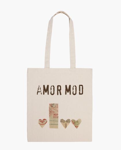 Bolsa Tote Bag Amor Mod