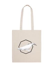 Tote Bag Ballena Blanca