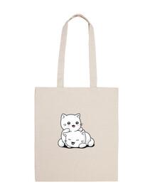 Tote bag chatons