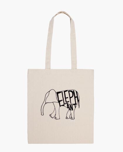 Bolsa Tote Bag Elephant