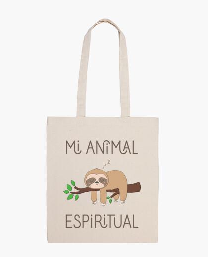 Bolsa Tote Bag Perezoso, Mi Animal Espiritual