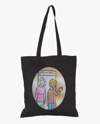 Tote bags, black color
