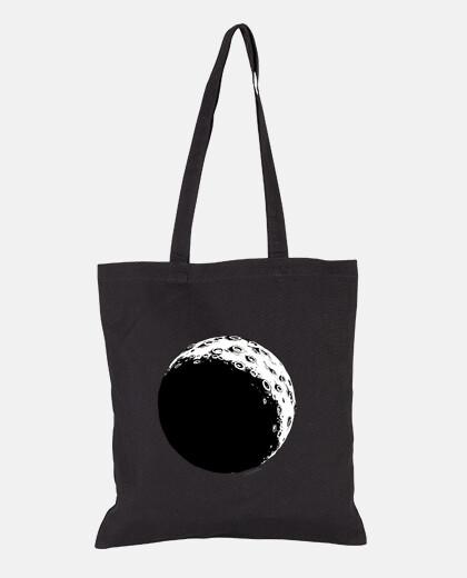 Tote bags, black color