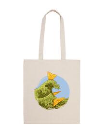 Tote bags, natural color