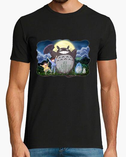 Camiseta Totoro 7 (Chico Negro)