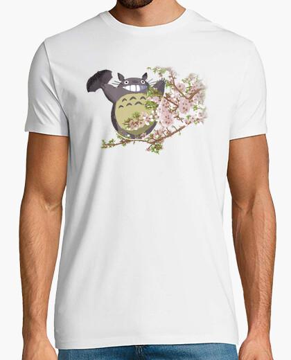 Camiseta Totoro and the Flowers