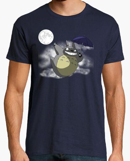 Camiseta Totoro Bajo la Luna