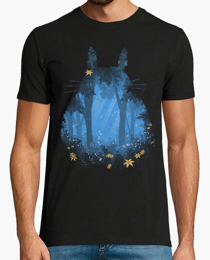 Tee-shirt totoro bleu