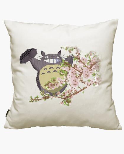 Fodera cuscino totoro e flowers
