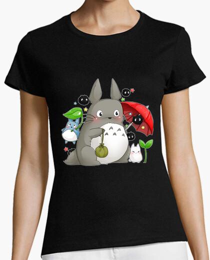 T-shirt totoro e friends