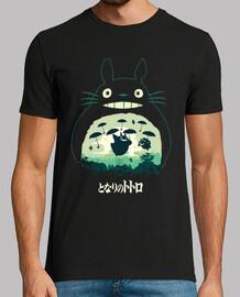 Totoro e il  suo ombrello