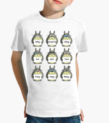 Abbigliamento bambino totoro emoji
