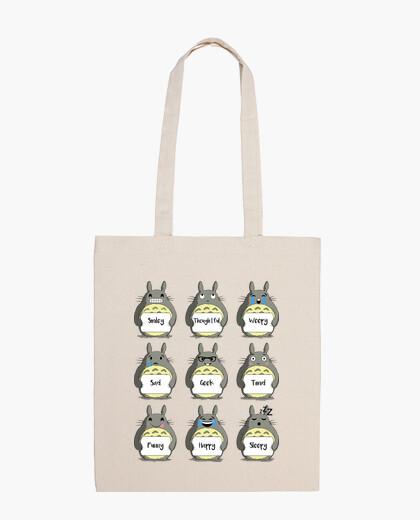 Bolsa Totoro Emoji