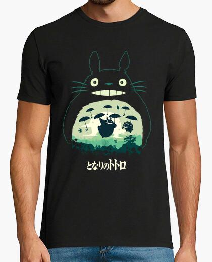 Tee-shirt Totoro et son parapluie