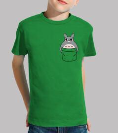 Totoro in a pocket niño