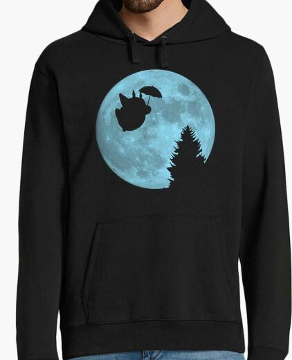 Jersey Totoro volando bajo la luna