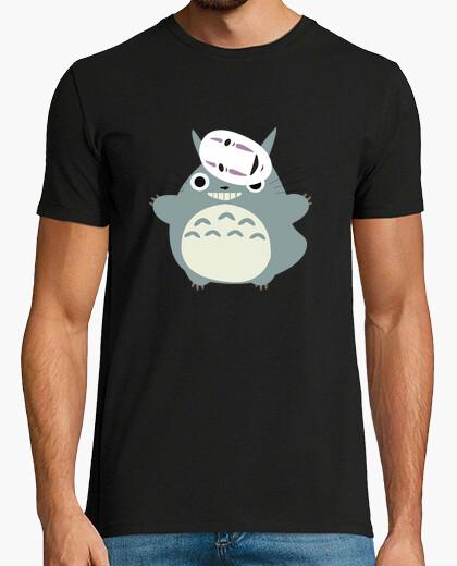 Camiseta Totoro y sin cara