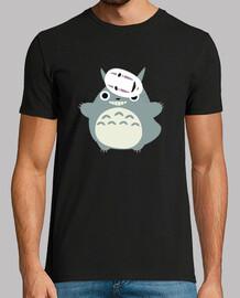 Totoro y sin cara