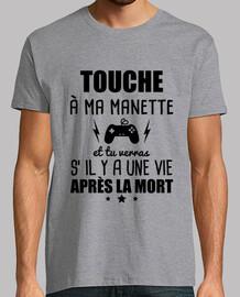 touche a ma manette geek gamer